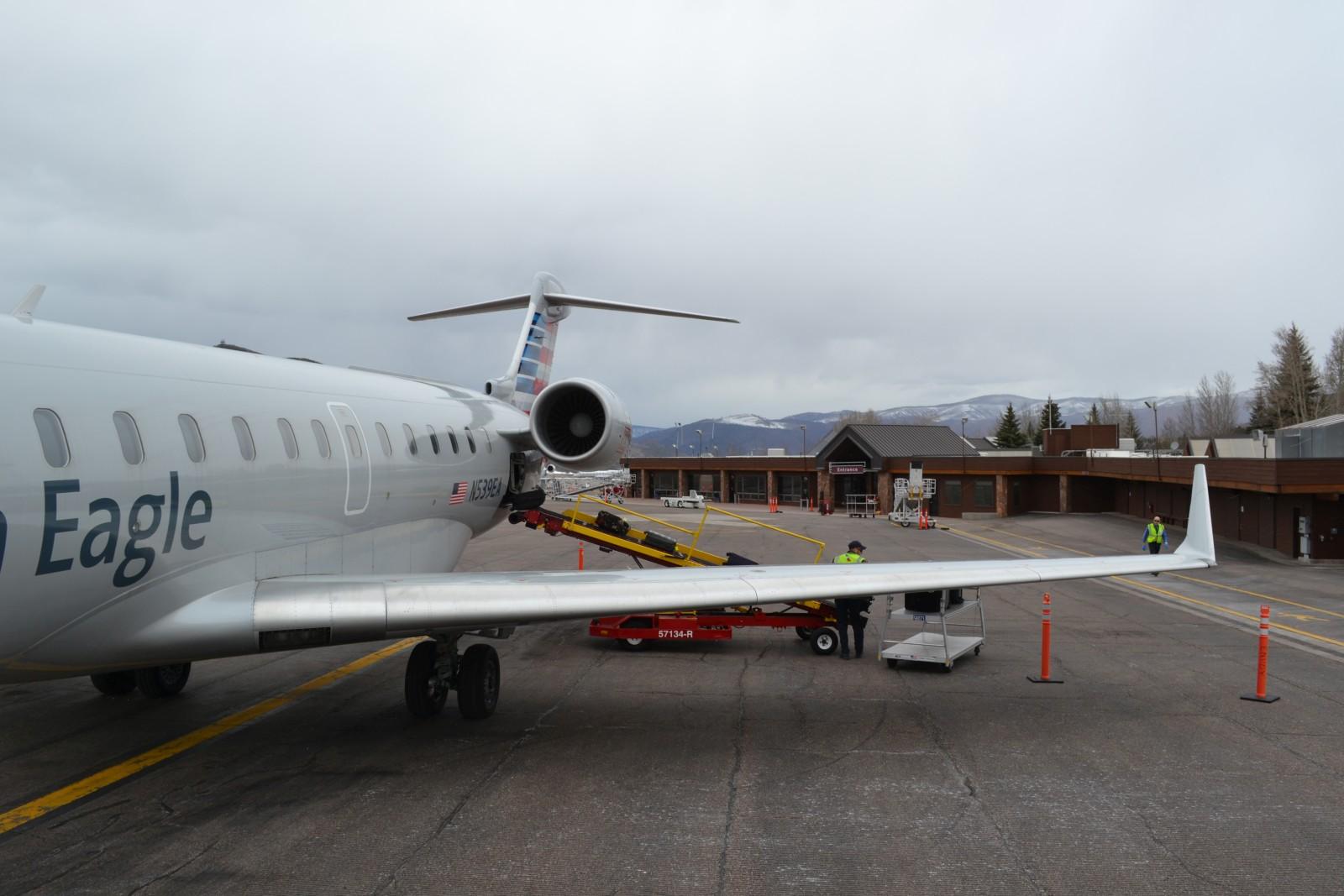 Avis du vol american airlines los angeles aspen en premiere for Cabine colorado aspen